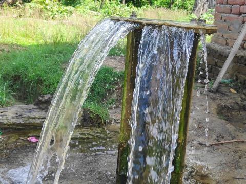 १११ मिटर तलको मुल पानी